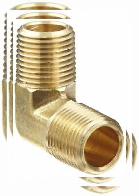 "Anderson Metals Brass Pipe Fitting, 90 Degree Forged Elbow, 1/2"" x"