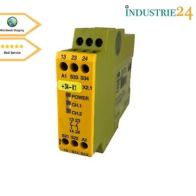 Pilz Pnoz X2.1 Safety Relay Safety Relay *Used*