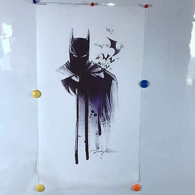 Batman Painting HD Print on Canvas Home Decor room Wall Art Promotion 12x24