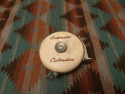 Vintage Cordomatic Clothesline - Retractable Clothes Line - Wall Mount