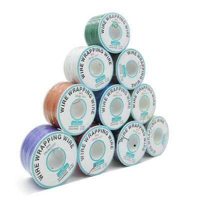 250M Electrical Wire Wrapping Wire Wrap Copper OK Wire PCB Insulated Cable Reel