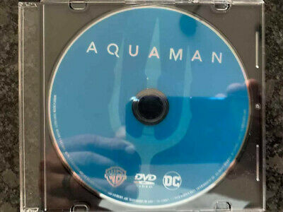 Aquaman 2019 DVD ONLY w/CD Case No Blu-Ray/Digital SAVE$$$ Combine Shipping