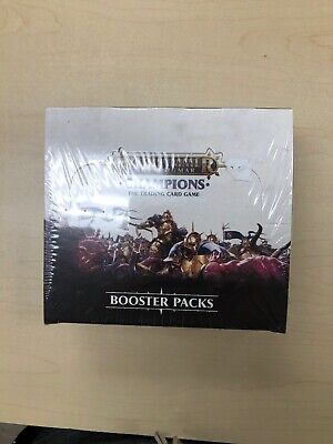 Warhammer Age of Sigmar: Champions Booster Box CCG (Sealed)