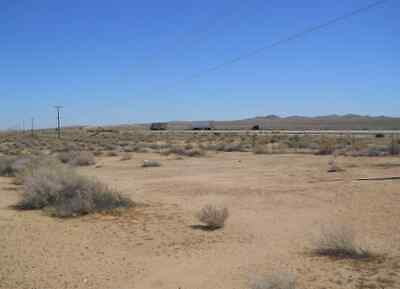34.5 Acres State Highway 58 Frontage Barstow Area So California Land