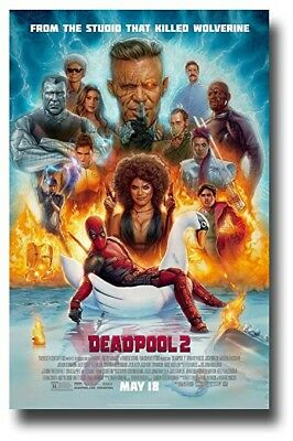 Deadpool 2 (4K UHD Blu-ray Disc, 2018) - Ultra HD DISC ONLY / NO CASE - PRISTINE