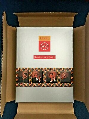 Level 42 * Running In The Family * Super Deluxe Dvd/Cd * 4 Disc + Booklets/Cards