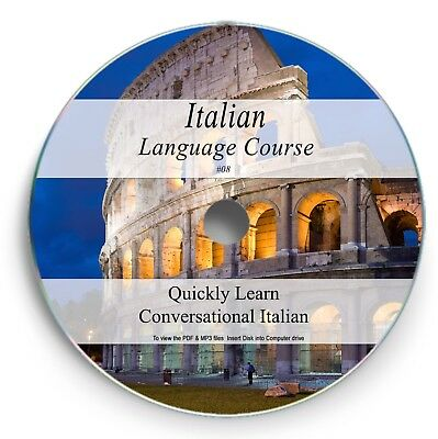 Italian Language Course - Learn to Speak - 38hrs Audio MP3 8 Books PDF on DVD 08