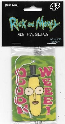 Rick and Morty TV Series Mr. Poopybutthole Oooh Weee! Air Freshener NEW SEALED