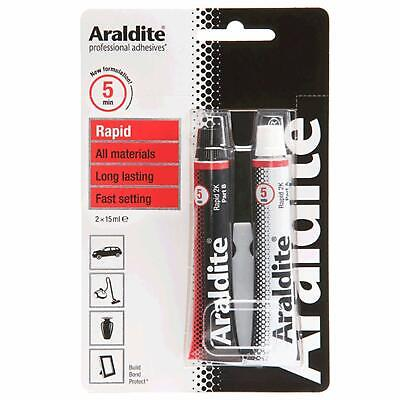 Araldite Rapid Epoxy Tubes 2 x 15ml
