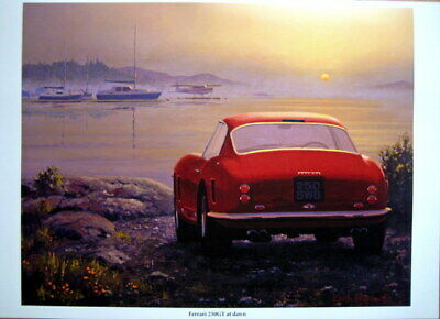 Ferrari 250GT At Dawn - (Lim. 35 Pcs) Artist : Keith Woodcock