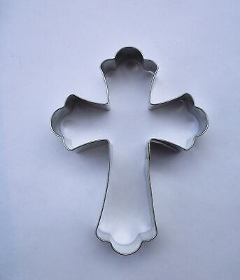 """Cross Fancy  5"""" Cookie Cutter  Religious  Christ Symbol"""
