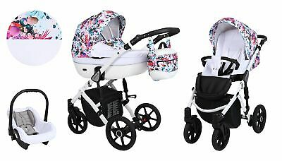 New Baby Pram Lavado Stroller Pushchair Car Seat Carrycot Travel System Buggy