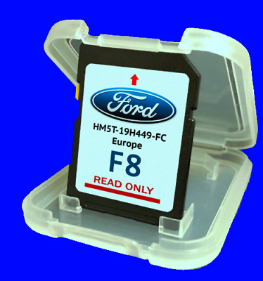2019 Ford F7 Europe Map Sd Card Sony Sync Touchscreen Original F4 F5 F6