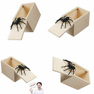 Spider Prank Hidden in Case Hilarious Scare Box April Fools' Day Trick Gags