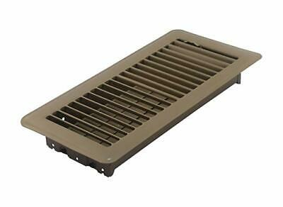 Floor Register with Louvered Design, 4-Inch x 10-Inch(Duct Opening Measurements)