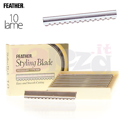 Feather Styling Blade - 10 Lame