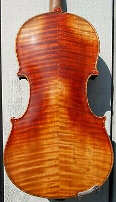 Old Vintage Antique 4/4 violin, reconstructed by George A. Yeary in 1944, #1319