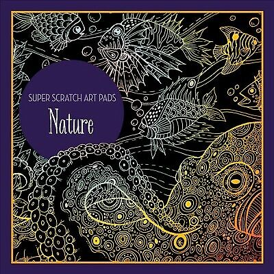 Super Scratch Art Pads - Nature, Hardcover by Sterling Children's (COR), Bran...