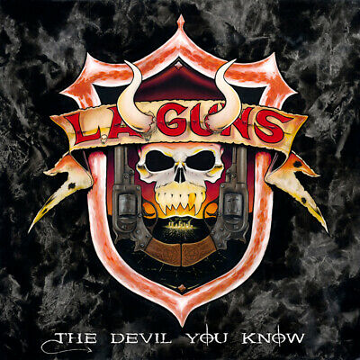 L.A. GUNS - Devil You Know ( LA Guns ) CD +1bonus track