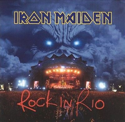 Rock In Rio (Live) - Iron Maiden 2 CD Set Sealed ! New!