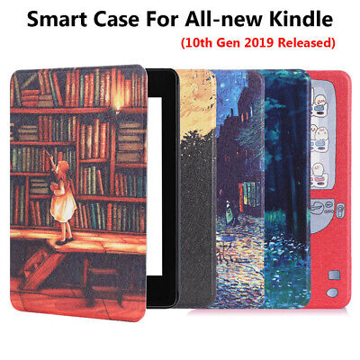 Slim Smart Case Leather Cover Protective Shell For All-new Kindle 10th Gen 2019