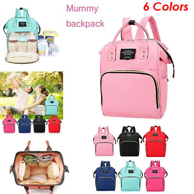 Multi-use Mummy Backpack Changing Maternity Bag Baby Diaper Nappy Gift UK