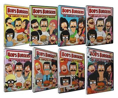 Bob's Burgers: The Complete Seasons 1-8 (DVD 22-Disc) Set 1 2 3 4 5 6 7 8 New