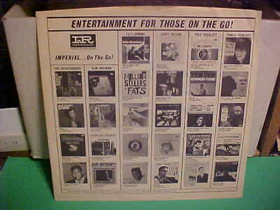 """Original Vintage """"Imperial""""  Records Inner Sleeve No Record 12 Inch"""