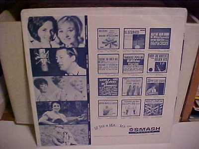 Original Vintage Smash Records Inner Sleeve Only No Record 12 Inch Usa