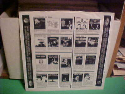 """Vintage Original Capitol Records Inner Sleeve Only No Record 12 Inch """"Top Names"""""""