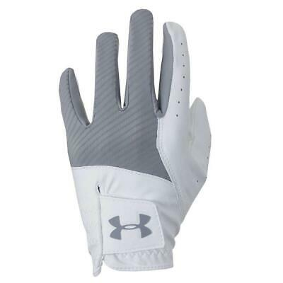Under Armour Golf 2019 Medal Men's Glove (Steel/White)