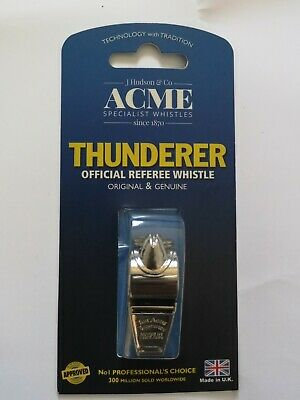 Thunderer 60.5 Metal ACME WHISTLE  Safety Sports Dog Training Referee Whistle