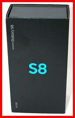 !! NEW SEALED Samsung Galaxy S8 SM-G950U 64GB Black Sprint Phone SPHG950UBLK !!