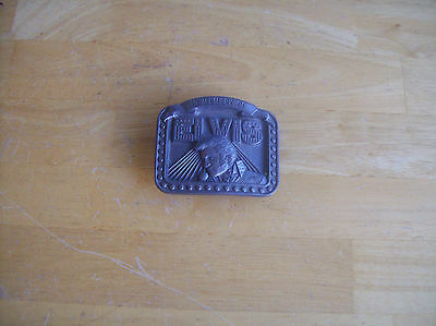 Buckles Of America In Memory Of Elvis Belt Buckle Limited Edition 3131 Of 10,000