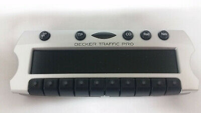 TRAFFIC PRO Becker Bedienteil silber BE4729, control panel silver