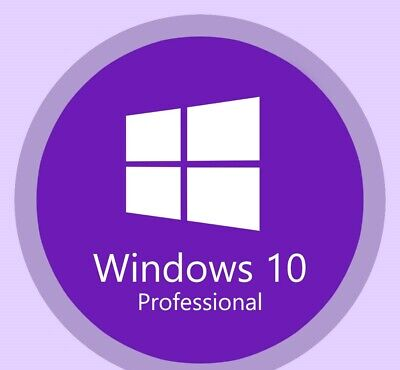 Windows 10 Pro Professional 32 / 64 Original License Key
