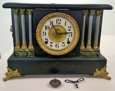Antique Ingraham Mantle Clock ~ late 1800's