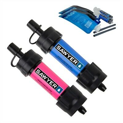 Sawyer Mini Water Filtration System Twin Pack Blue Pink SP2102