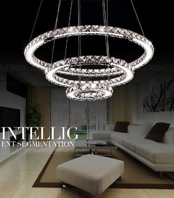 LED Crystal Chandelier Lights Lamp