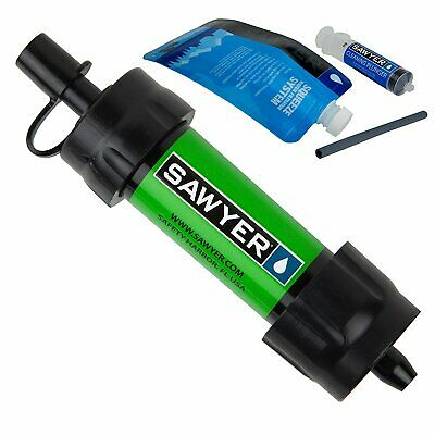 Sawyer Mini Water Filtration System Green SP101