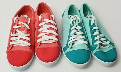 f4d6e4264b506 AVON COLOR CRAZY Sneakers for Women size 8M CanvasTurquoise ...