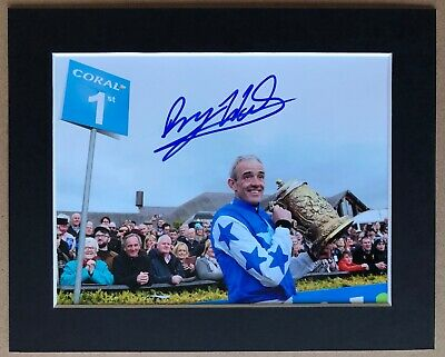 Ruby Walsh - Champion Jockey - Signed Photo - Mounted - Ruby Ruby