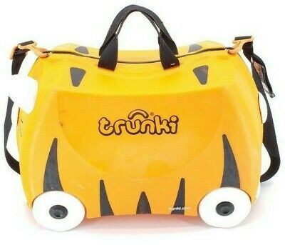 Trunki Kids Ride On Rolling Suitcase Tipu Tiger by Melissa & Doug