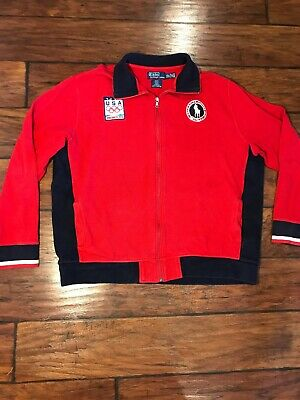 Usa Lauren Wool Jacket Olympic Ralph Team Official Vancouver 2010 H2WEDY9eI