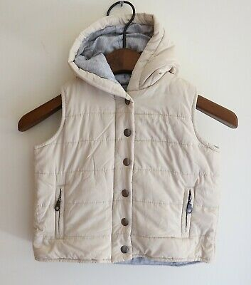 SEED Quilted Hooded VEST JACKET - Size 2 - 3