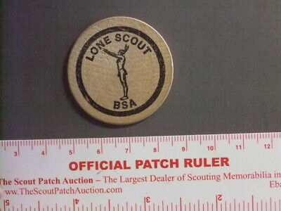 Boy Scout National Jamboree 1981 Lone Scout Wooden Nickel 8955W