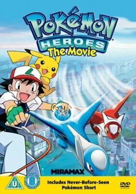 Pokemon Heroes - Sealed NEW DVD - Pikachu