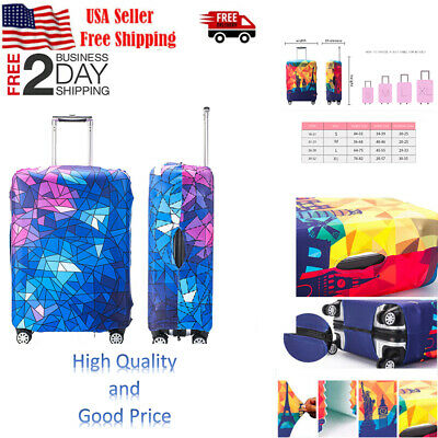 Travel Luggage Suitcase Case Cover Elastic Scratch Dustproof Protector Bags new