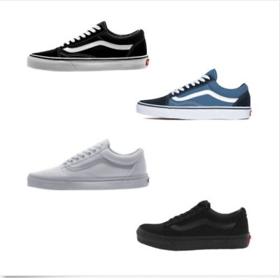 e372848d09 New Men's and Women's Vans Old Skool Black Skateboard Classic Canvas Suede