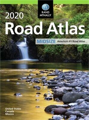 Rand McNally 2020 Road Atlas Midsize (Paperback or Softback)